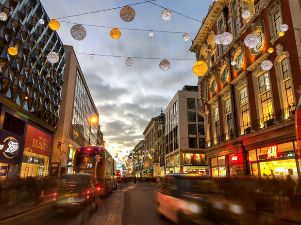 Oxford Street, Londres, Getty Images