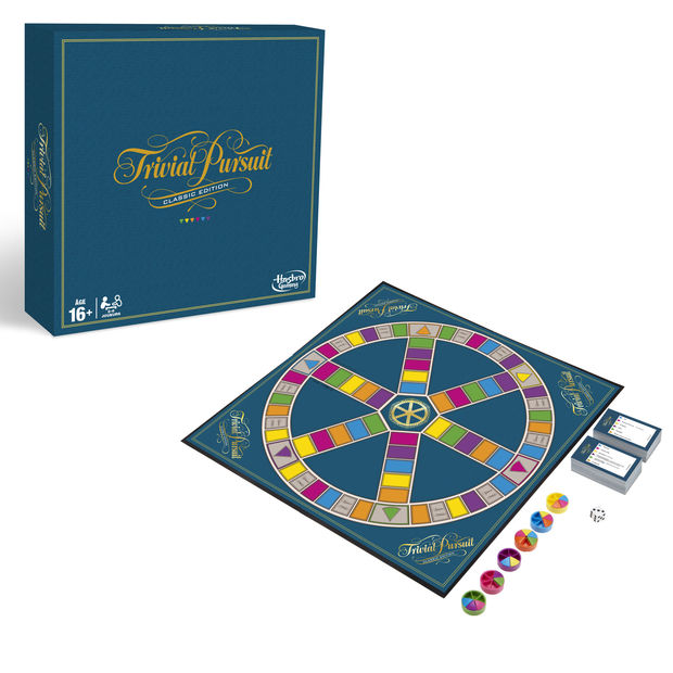 Tentez votre chance de remporter un Trivial Pursuit, le jeu intemporel de Hasbro