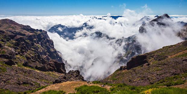 Pico do Arieiro - Pico Ruivo, Madère (Portugal)