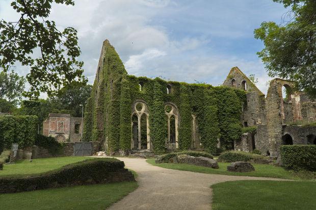 L'abbaye de Villers-La-Ville, en Belgique.