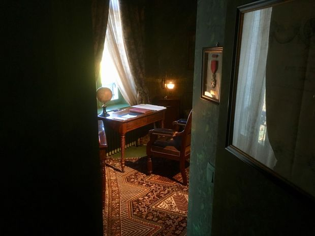 Le bureau de Jules Verne, Olivia Van de Putte