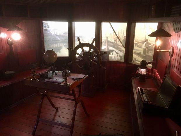 Le bateau de Jules Verne, Olivia Van de Putte