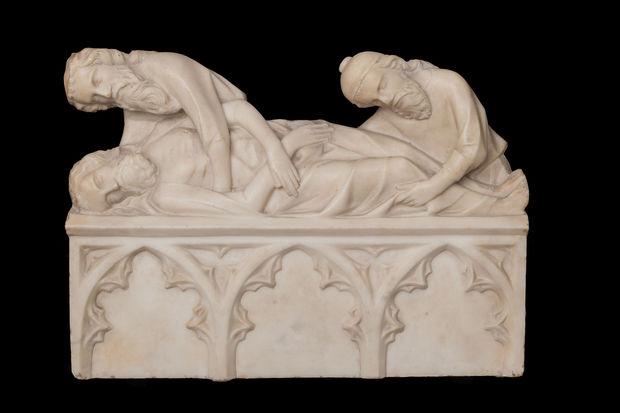 Liège Grand Curtius, Mise au tombeau (Vers 1340).