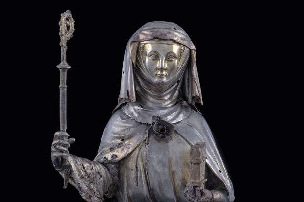 Nivelles - Châsse de Sainte Gertrude (1272-1298).