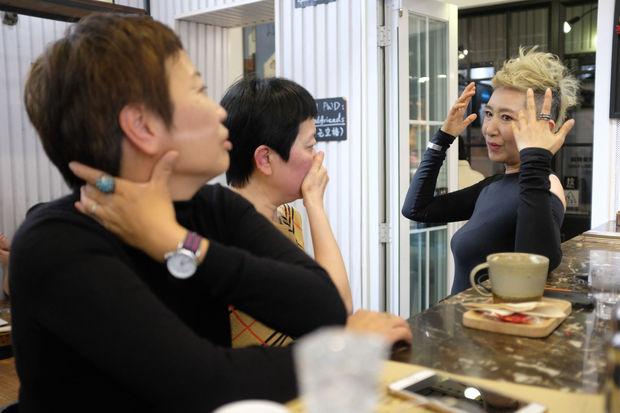 A Shanghai, la mode n'a pas d'âge pour les mannequins