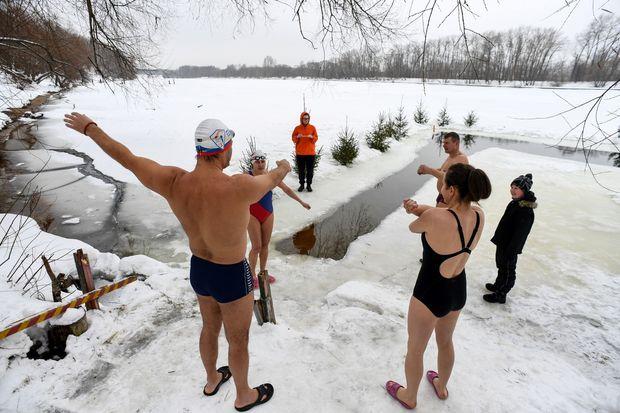 Un bain de jouvence dans une eau à -2°C, cela vous tente ?