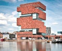 Quartier du MAS à Anvers : promenade tendance