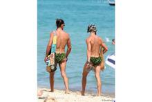 Le maillot homme des bois débarque à Saint Tropez