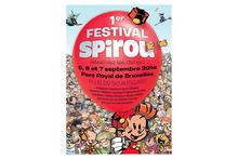 Spirou fait la fête au Parc Royal de Bruxelles!