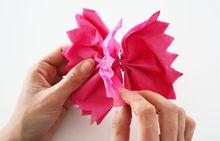 DIY: Au printemps, fleurissent les fleurs ... de papier