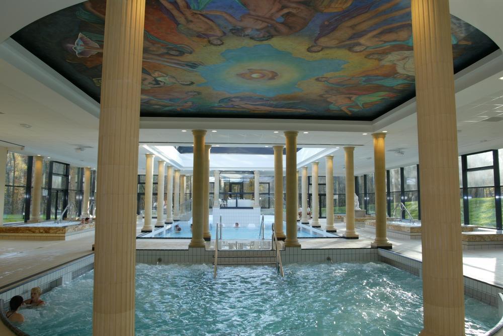 Villa Pompéi, un spa aux couleurs de la Rome antique à Amnéville-les-Thermes.