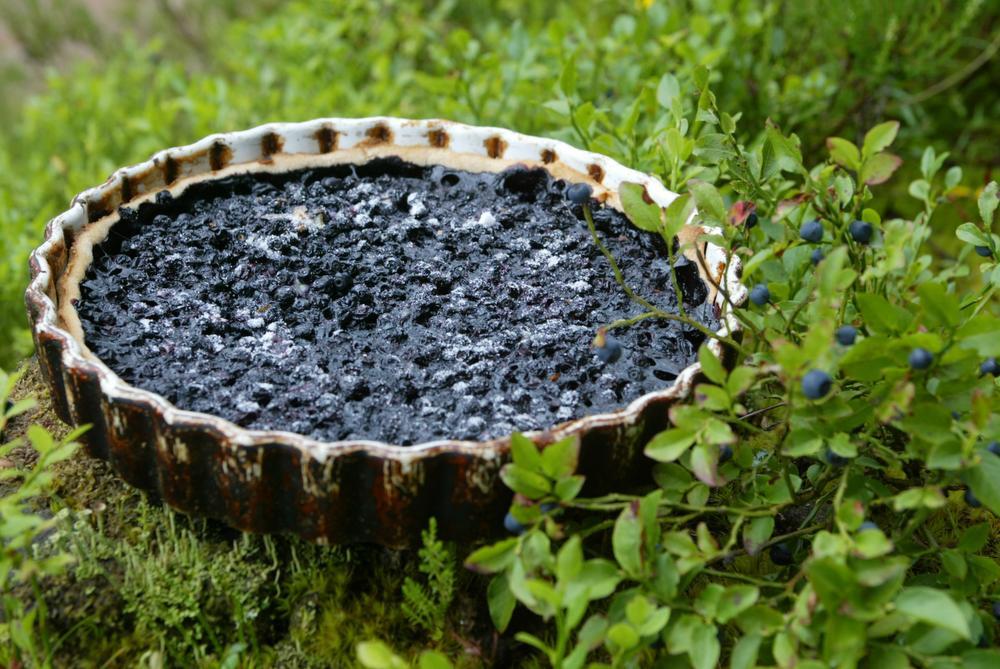 Une tarte aux brimbelles