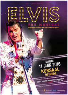 Gagnez deux tickets pour le spectacle Elvis The Musical