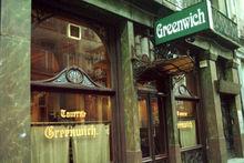 Le café Greenwich où Magritte aimait disputer des parties d'échecs., BELGA