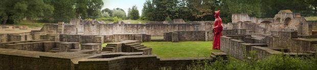 De l'Abbaye des Dunes, il ne reste à proprement parler que des ruines, hantées par des générations de moines..., DR