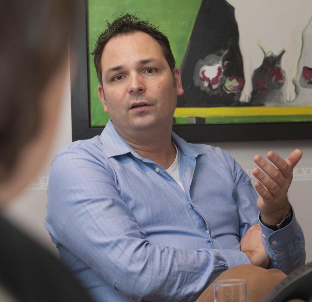 Vincent Molkenboer, practice performance manager chez le fabricant de lentilles de contact Alcon., Jerry De Brie