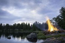 Finlande. Solstice d'été